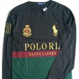 Men Polo Ralph Lauren Long Sleeve Tee Size XXL